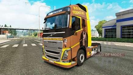 Spencer Hill skin for Volvo truck for Euro Truck Simulator 2