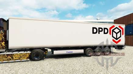 Skin DPD for semi-refrigerated for Euro Truck Simulator 2