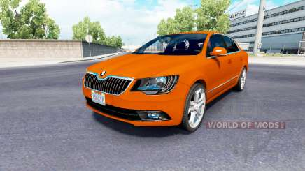 Skoda Superb v2.0 for American Truck Simulator