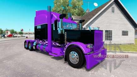 Race Inspired skin for the truck Peterbilt 389 for American Truck Simulator