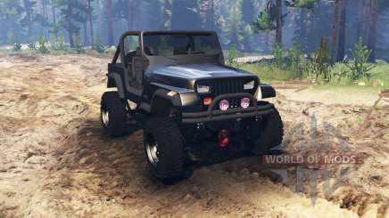 Jeep YJ 1987 for Spin Tires