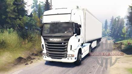 Scania R730 4x4 for Spin Tires