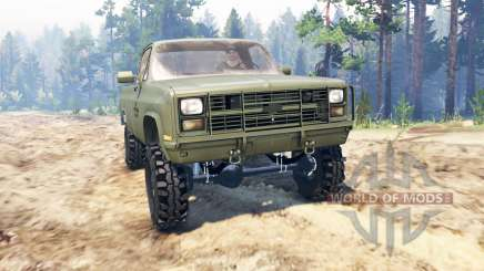 Chevrolet K5 Blazer M1008 for Spin Tires