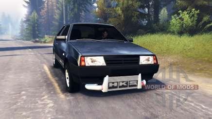 VAZ-2108 v2.0 for Spin Tires