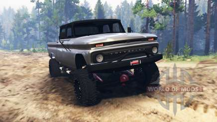 Chevrolet C30 1966 for Spin Tires