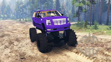 Cadillac Escalade ESV for Spin Tires