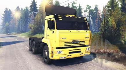 KamAZ-6460 v2.0 for Spin Tires