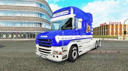 Scania T Longline [T. van der Vijver] for Euro Truck Simulator 2