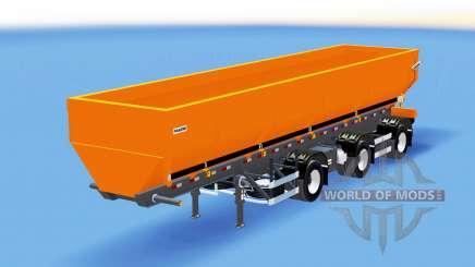 Tipper semi-trailer for American Truck Simulator