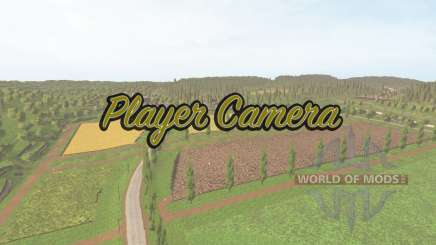The vertical position change of the camera for Farming Simulator 2017