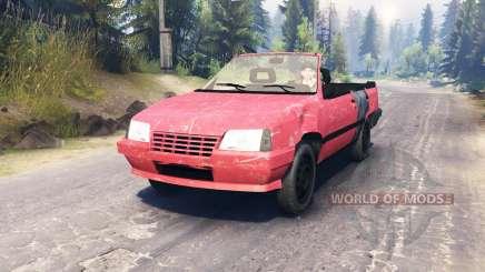 Opel Kadett Cabrio (E) for Spin Tires