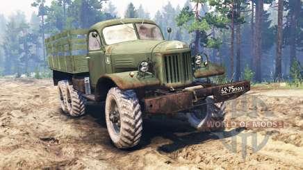 ZIL-157 v2.0 for Spin Tires