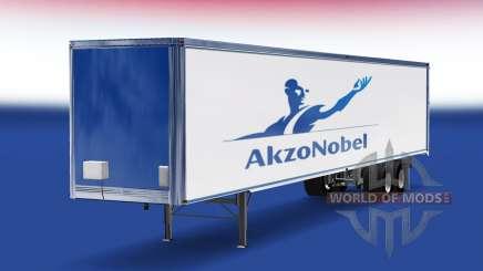 Skin AkzoNobel on the trailer for American Truck Simulator