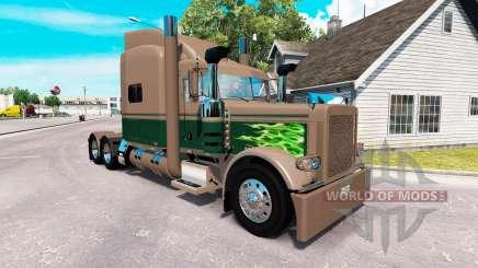 Скин Ken & Barb Workhorse Show на Peterbilt 389 for American Truck Simulator