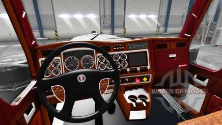 Interior for Kenworth W900 for American Truck Simulator