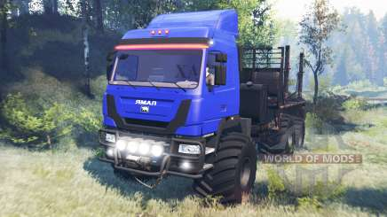The Yamal-6 v6.0 for Spin Tires