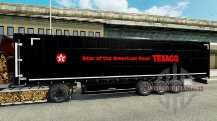 Skin on Texaco semi for Euro Truck Simulator 2