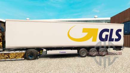 Skin GLS for semi-refrigerated for Euro Truck Simulator 2