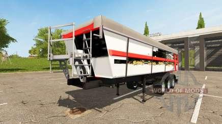 Schmitz Cargobull SKI 24 Wolf for Farming Simulator 2017