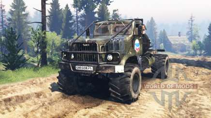 KrAZ-258 v3.0 for Spin Tires