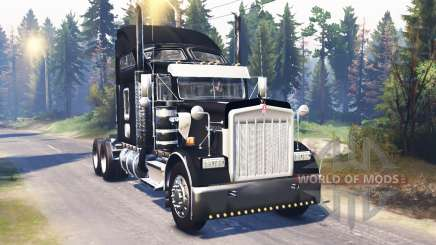 Kenworth W900 v2.0 for Spin Tires