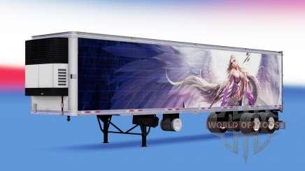 Skin LeL on refrigerated semi-trailer for American Truck Simulator