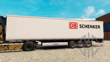 Skin DB Schenker for semi-refrigerated for Euro Truck Simulator 2