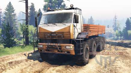 KamAZ Polar v2.0 for Spin Tires