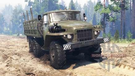 Ural-375 v2.0 for Spin Tires