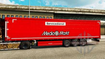 Skin Media Markt for trailers for Euro Truck Simulator 2