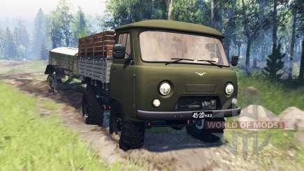 UAZ-452Д v4.0 for Spin Tires