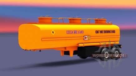 Fuel semi-trailer NefAZ for Euro Truck Simulator 2