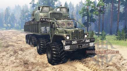 KrAZ Monster v2.0 for Spin Tires
