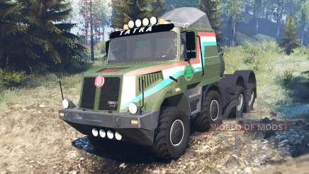 Tatra 163 Jamal 8x8 v8.0 for Spin Tires