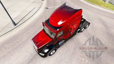 Valor skin for the truck Peterbilt 579 for American Truck Simulator