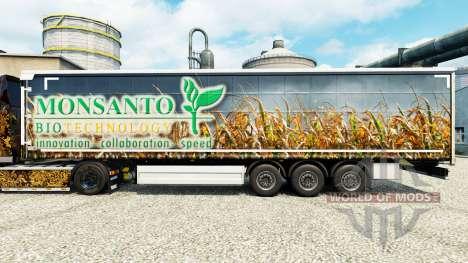 Monsanto Bio skin for trailers for Euro Truck Simulator 2