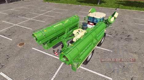 Krone BiG X 500 v2.2 for Farming Simulator 2017