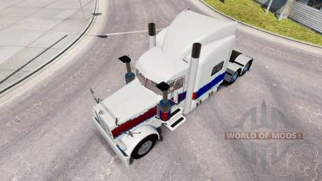 Skin The Pearl at the truck Peterbilt 389 for American Truck Simulator