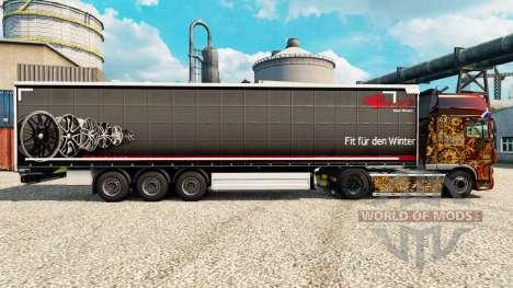 Brock skin for trailers for Euro Truck Simulator 2