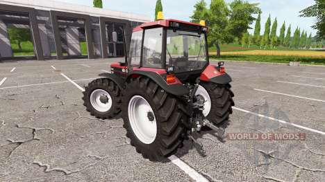 New Holland 8340 red for Farming Simulator 2017