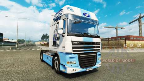 Skin HC Kometa Brno on tractor DAF for Euro Truck Simulator 2