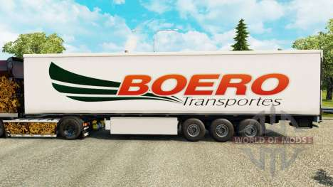 Boero Transportes skin for trailers for Euro Truck Simulator 2