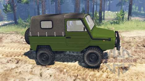 LuAZ-969М for Spin Tires
