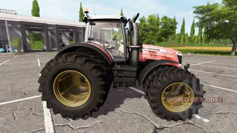 Massey Ferguson 8727 v1.1 for Farming Simulator 2017