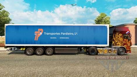 Skin Pardieiro Transportes Lda for semi-trailers for Euro Truck Simulator 2