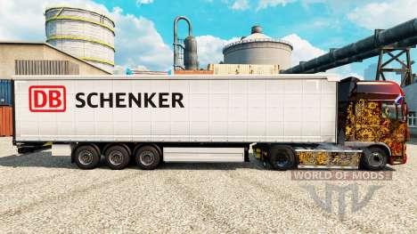 Schenker skin for trailers for Euro Truck Simulator 2