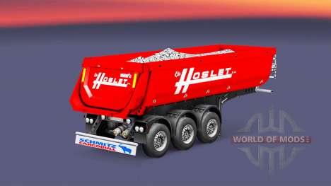 Semi-trailer tipper Schmitz Cargobull Hoslet for Euro Truck Simulator 2