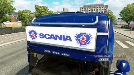 Advertising light box for Scania for Euro Truck Simulator 2