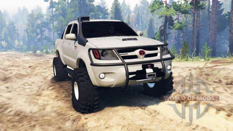 Toyota Hilux 2013 for Spin Tires