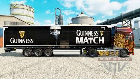 Guinness skin for trailers for Euro Truck Simulator 2